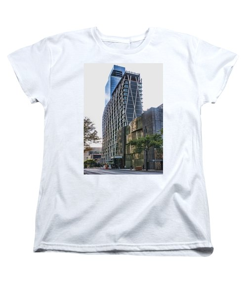 Oct 2014 Ne View Women's T-Shirt (Standard Cut) by Steve Sahm