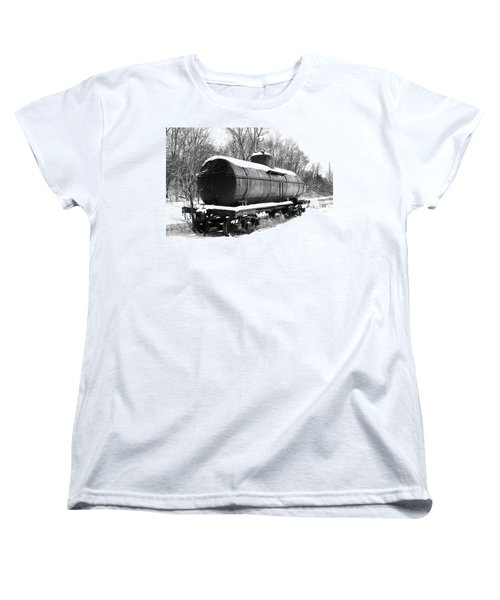 Women's T-Shirt (Standard Cut) featuring the photograph Off The Beaten Track by Sara  Raber