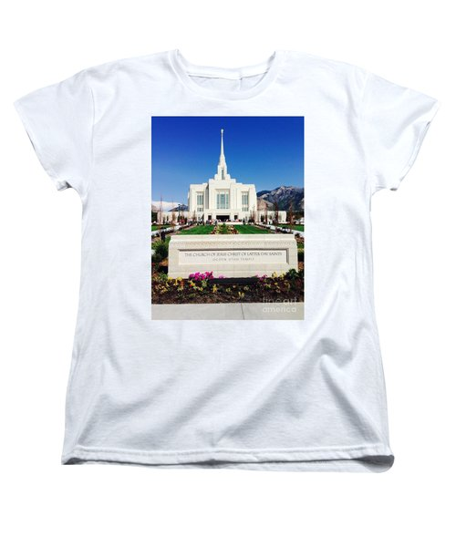Ogden Temple 1 Women's T-Shirt (Standard Cut) by Richard W Linford