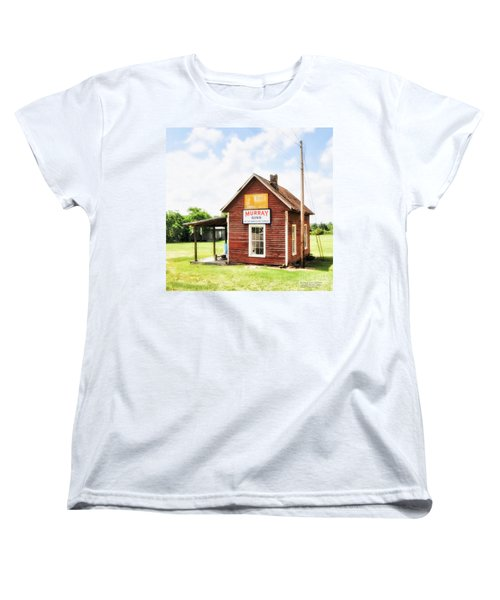 Old Country Cotton Gin Store -  South Carolina - I Women's T-Shirt (Standard Cut) by David Perry Lawrence