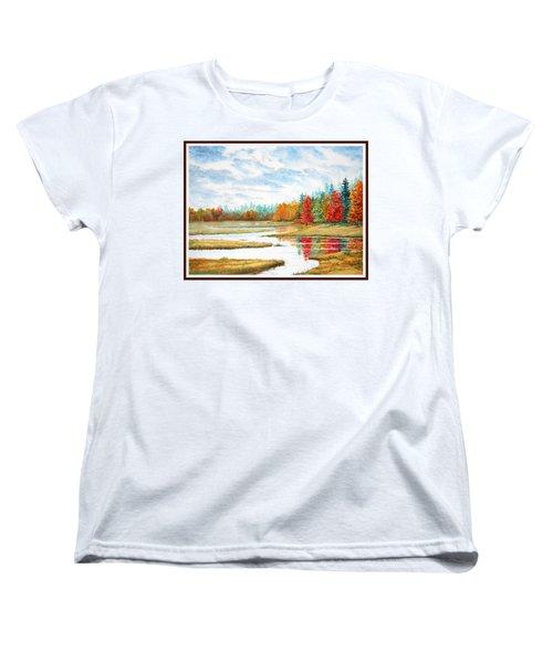 Old Forge Autumn Women's T-Shirt (Standard Cut) by Roger Rockefeller