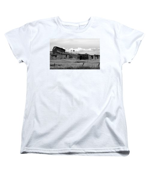 Old Fort Women's T-Shirt (Standard Cut) by Steven Reed