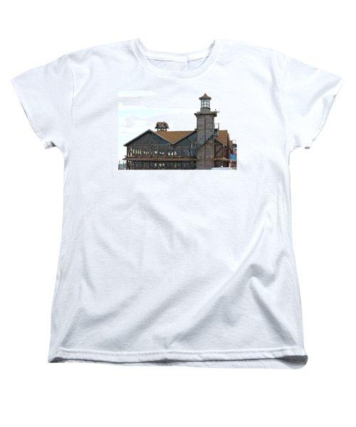 Old Restaurant                 Women's T-Shirt (Standard Cut) by Lorna Maza