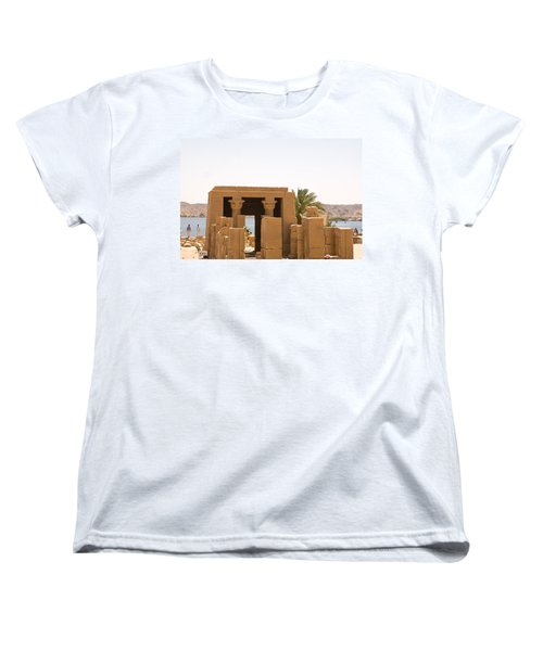 Old Structure 2 Women's T-Shirt (Standard Cut) by James Gay