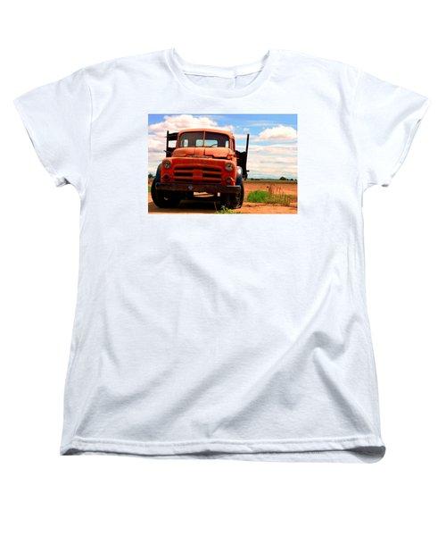 Old Truck Women's T-Shirt (Standard Cut) by Matt Harang