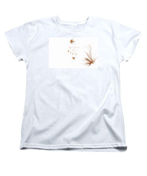 On The Wind Women's T-Shirt (Standard Cut) by GJ Blackman