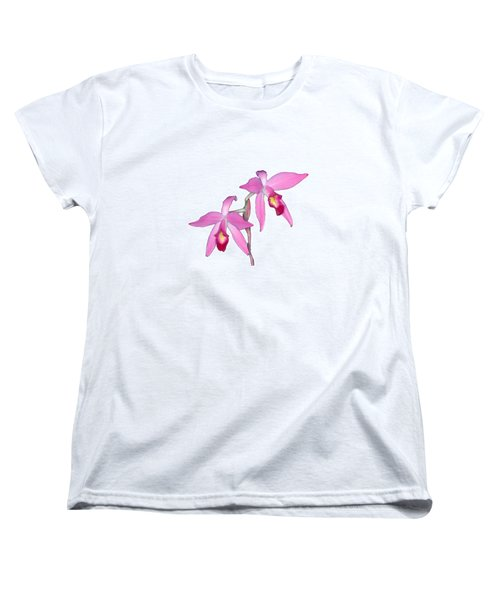 Orchid 1-1 Women's T-Shirt (Standard Cut) by Andy Shomock