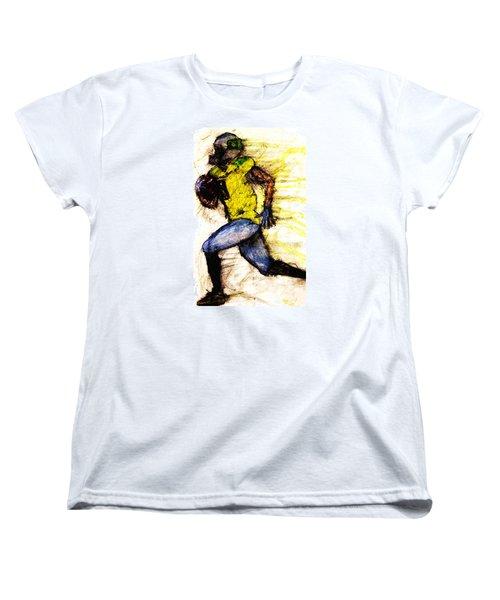Oregon Football 2 Women's T-Shirt (Standard Cut) by Michael Cross