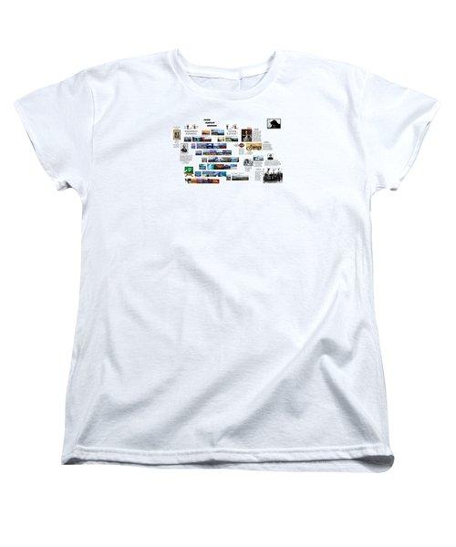Origin8ing Women's T-Shirt (Standard Cut) by Peter Hedding