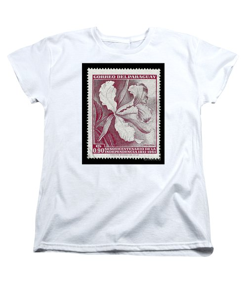 Orquidea Women's T-Shirt (Standard Cut) by Andy Prendy