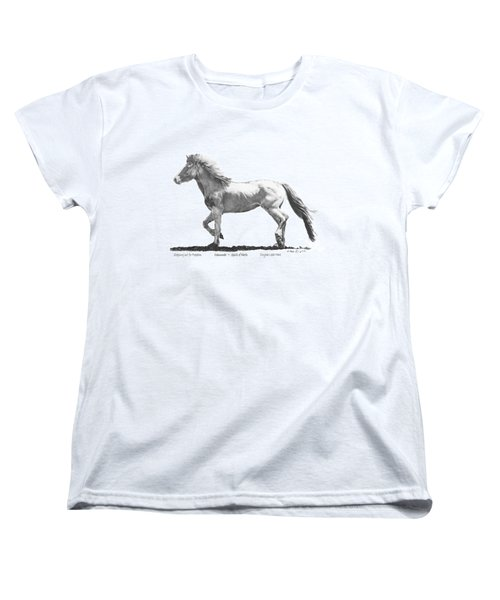 Oshunnah Stepping Out For Freedom Women's T-Shirt (Standard Cut) by Marianne NANA Betts