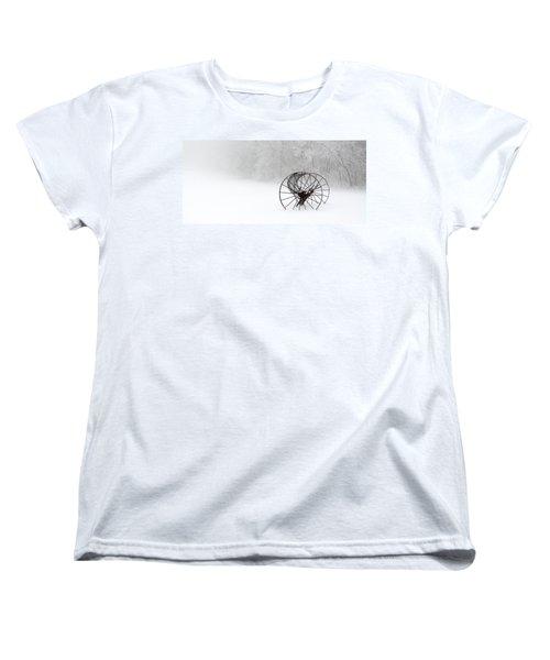 Out Of The Mist A Forgotten Era II Women's T-Shirt (Standard Cut) by Greg Reed