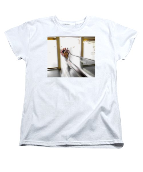 Women's T-Shirt (Standard Cut) featuring the photograph Out Of Thin Air by Alex Lapidus