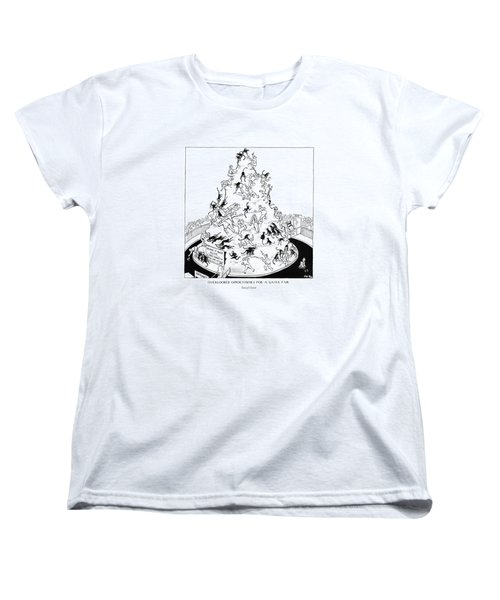 Overlooked Opportunities For A Gayer Women's T-Shirt (Standard Cut) by Carl Rose