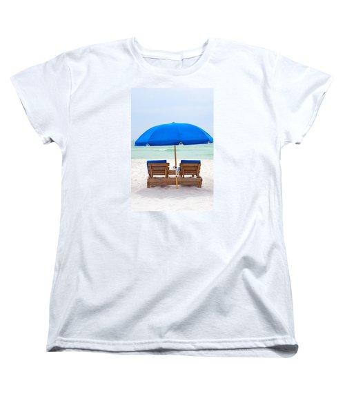 Panama City Beach Florida Women's T-Shirt (Standard Cut) by Vizual Studio
