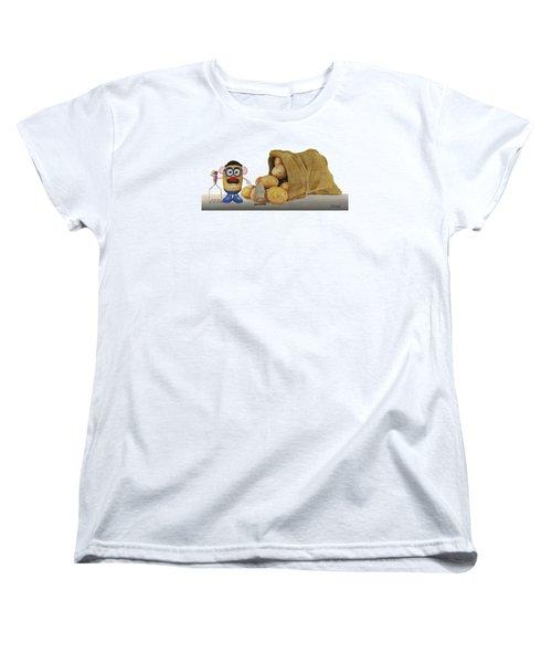 Papa Got A Brand New Bag Women's T-Shirt (Standard Cut) by Ferrel Cordle
