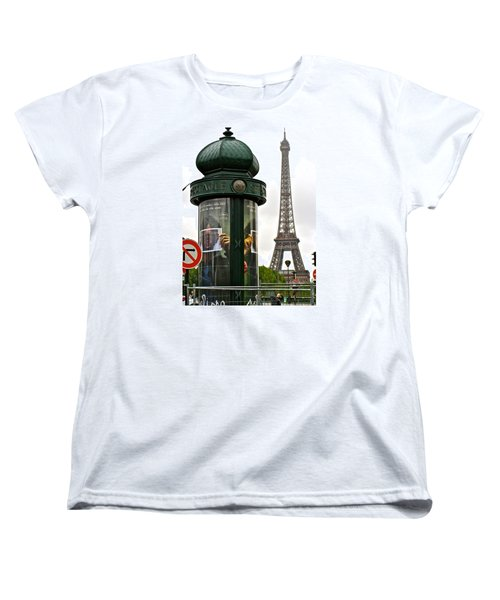 Women's T-Shirt (Standard Cut) featuring the photograph Paris by Ira Shander