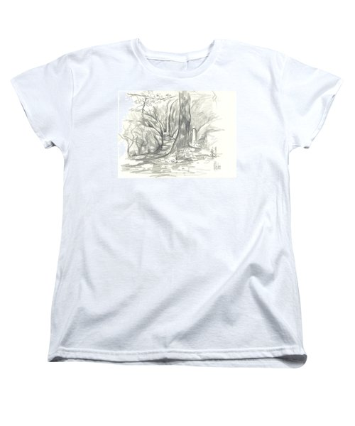 Passageway At Elephant Rocks Women's T-Shirt (Standard Cut) by Kip DeVore