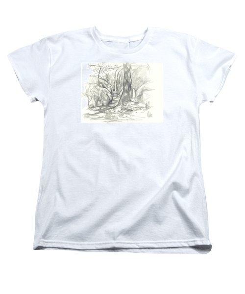 Passageway At Elephant Rocks Women's T-Shirt (Standard Cut)