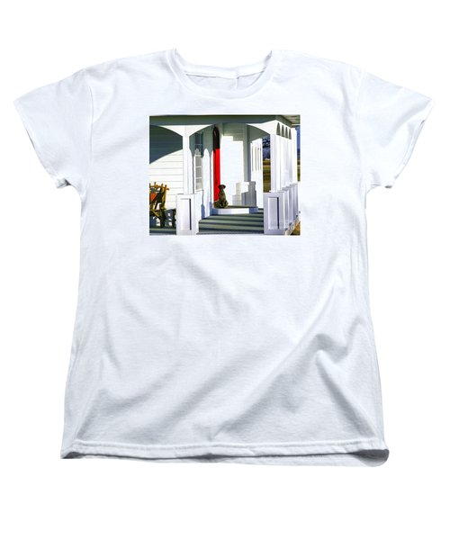Patience Women's T-Shirt (Standard Cut) by Steven Reed