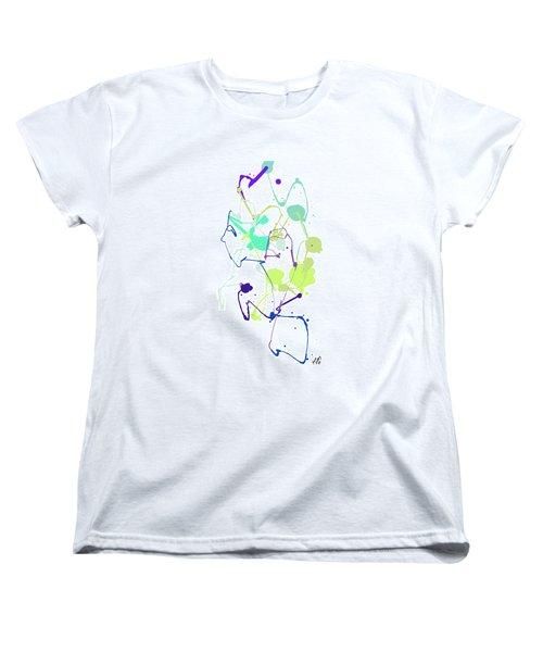 Peace In The Garden Women's T-Shirt (Standard Cut) by Bruce Nutting