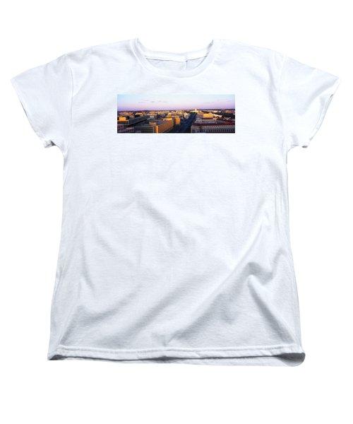 Pennsylvania Ave Washington Dc Women's T-Shirt (Standard Cut) by Panoramic Images