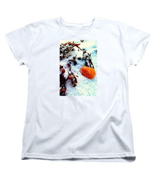 Pensacola Beach Sand Women's T-Shirt (Standard Cut) by Faith Williams