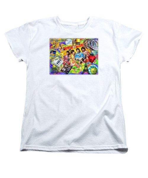 Pepperland Women's T-Shirt (Standard Cut) by Mo T