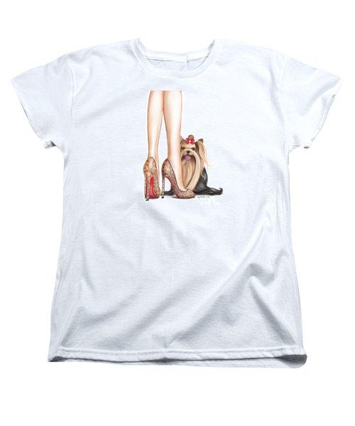 Perfect Match Women's T-Shirt (Standard Cut) by Catia Cho