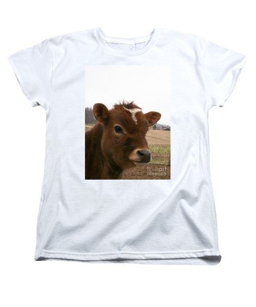 Women's T-Shirt (Standard Cut) featuring the photograph Perfect Stance by Sara  Raber