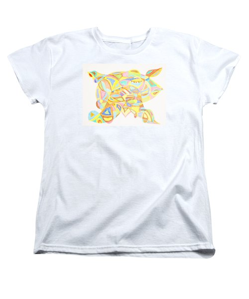 Pigs Can Fly Women's T-Shirt (Standard Cut) by Stormm Bradshaw