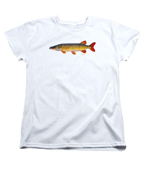 Pike Women's T-Shirt (Standard Cut) by Carey Chen