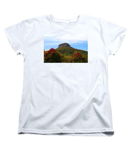 Pilot Mountain From 52 Women's T-Shirt (Standard Cut)