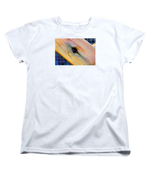 Women's T-Shirt (Standard Cut) featuring the photograph Pine by Cassandra Buckley