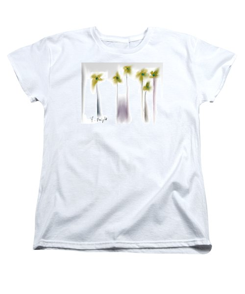 Women's T-Shirt (Standard Cut) featuring the photograph Pinned by Frank Bright