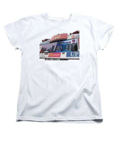 Women's T-Shirt (Standard Cut) featuring the photograph Pittsburgh Ketchup  by Michael Krek