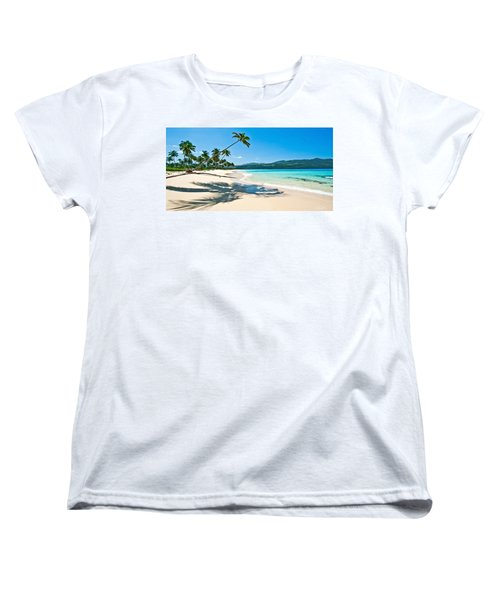 Playa Rincon Women's T-Shirt (Standard Cut) by Renee Sullivan