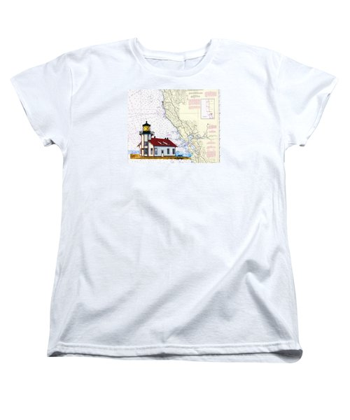 Point Cabrillo Light Station Women's T-Shirt (Standard Cut) by Mike Robles