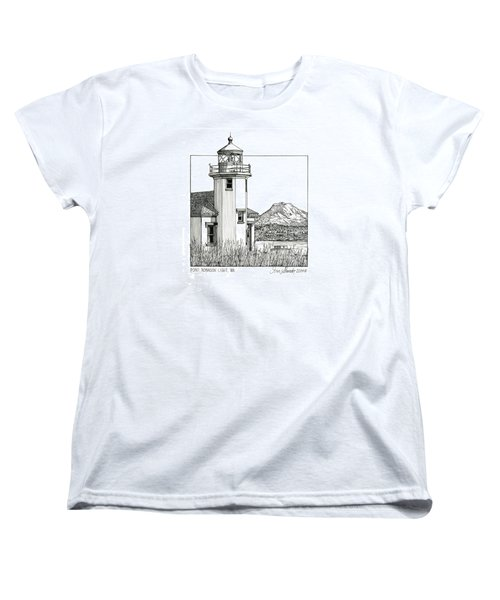 Point Robinson Light Women's T-Shirt (Standard Cut) by Ira Shander