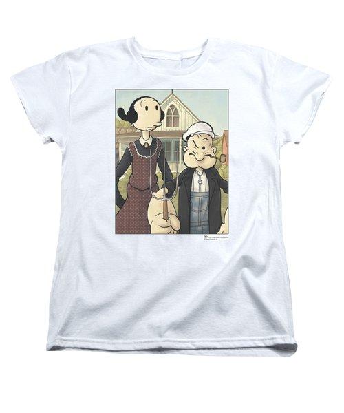 Popeye - Popeye Gothic Women's T-Shirt (Standard Cut) by Brand A