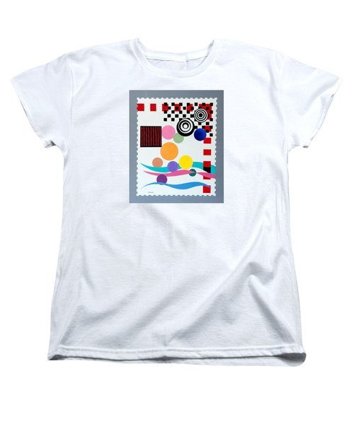 Postage Paid Women's T-Shirt (Standard Cut) by Thomas Gronowski