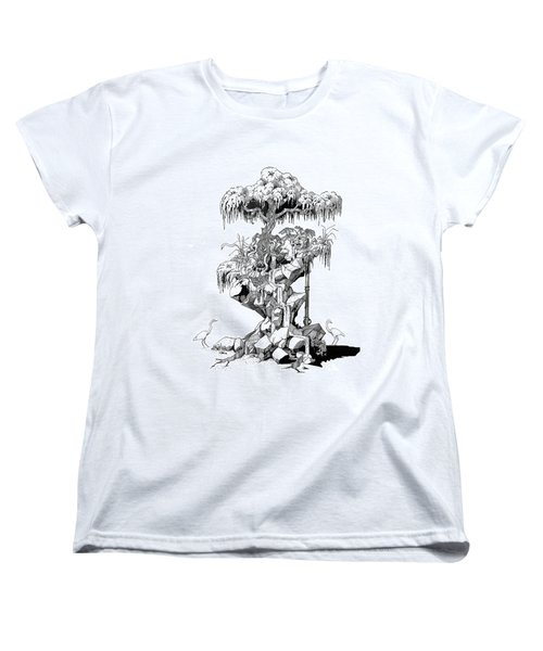 Ptactvo Women's T-Shirt (Standard Cut) by Julio Lopez