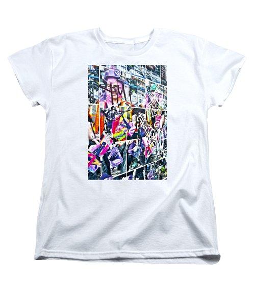 Pretty Random Women's T-Shirt (Standard Cut) by Chris Dutton