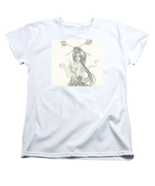 Women's T-Shirt (Standard Cut) featuring the drawing Princess Altiana by Shawn Dall