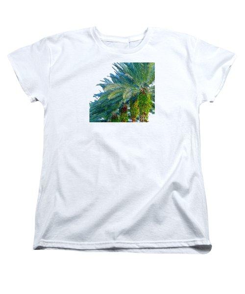 Women's T-Shirt (Standard Cut) featuring the photograph Progression Of Palms by Joy Hardee