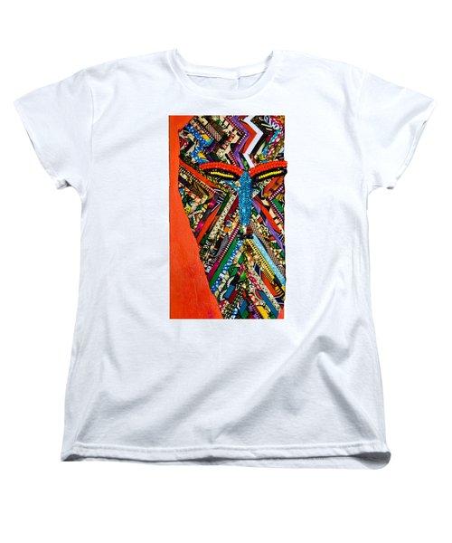 Quilted Warrior Women's T-Shirt (Standard Cut)
