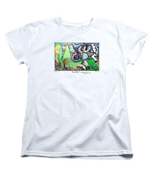 Rabbid Rabbit Women's T-Shirt (Standard Cut)