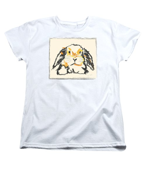 Rabbit Jon Women's T-Shirt (Standard Cut) by Go Van Kampen