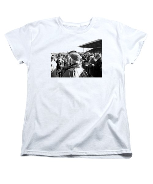 Women's T-Shirt (Standard Cut) featuring the photograph Race Day by Suzanne Oesterling