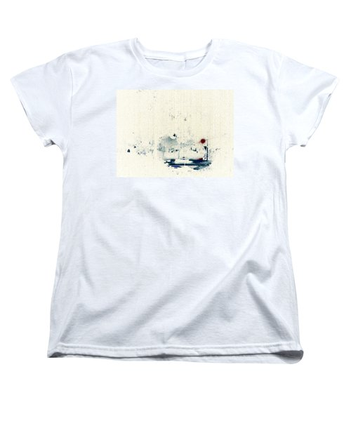 Rain Women's T-Shirt (Standard Cut) by Jacqueline McReynolds